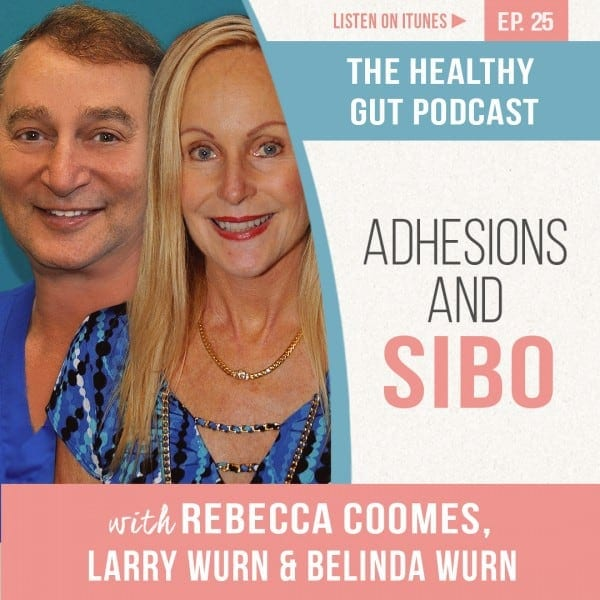 Rebecca Coomes The Healthy Gut with Larry and Belinda Wurn on Adhesions and SIBO