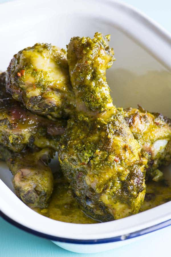 Rebecca Coomes the healthy gut blog thai style marinated chicken drumsticks recipe
