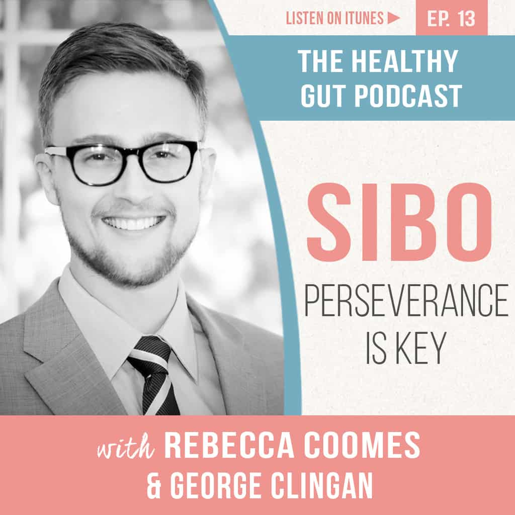 Rebecca Coomes the healthy gut and why perseverance is key for SIBO With George Clingan image