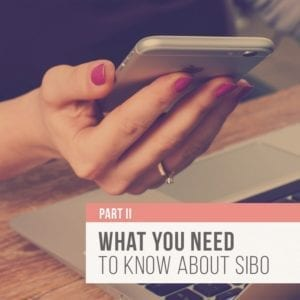 Rebecca Coomes The Healthy Gut Blog Post What You Need To Know About Sibo Ii Blog