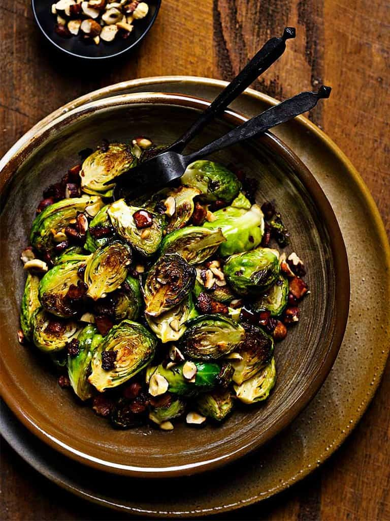 Buttery Bacon Brussel Sprouts Recipe 786x1048