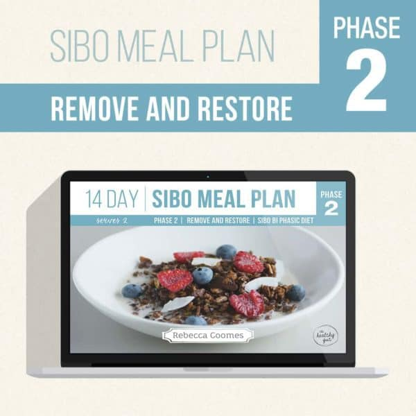 Sibo Meal Plans Covers Rr