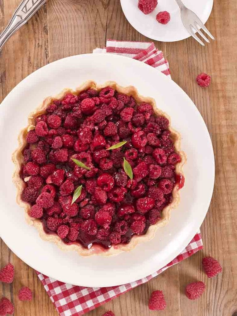 Raspberry And Coconut Yoghurt Tart Recipe 786x1048