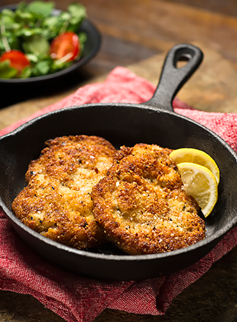 Rebecca Coomes the healthy gut-SIBO-friendly-veal-schnitzel-recipe/
