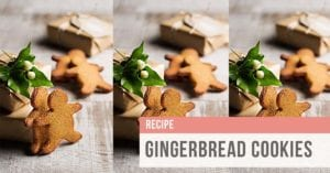 SIBO friendly gingerbread cookie recipe