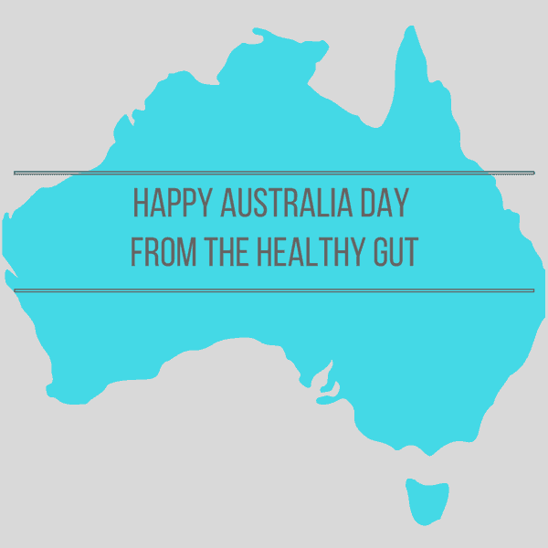 Rebecca Coomes the healthy gut blog and SIBO friendly Australia day recipes image