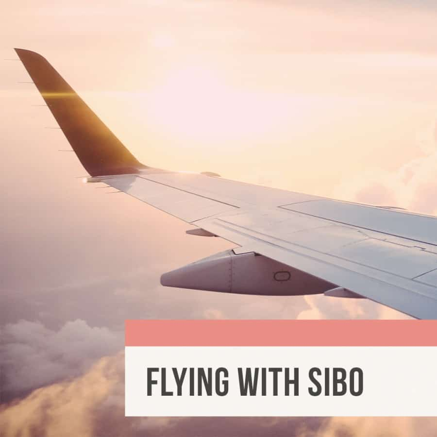 Rebecca Coomes The Healthy Gut Blog Post Flying With Sibo Blog 1