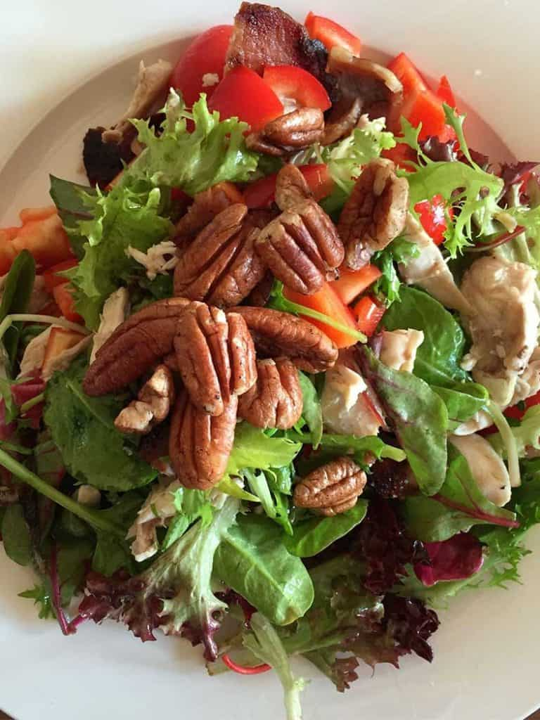 Chicken, Bacon & Pecan Salad Recipe 786x1048