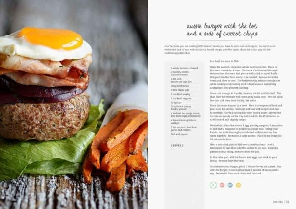 Sibo Summer Cookbook Lunches