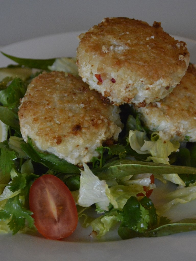 Thai Fish Cakes & Salad Featured Photo