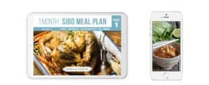Any Device Monthly Sibo Meal Plans