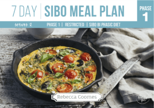 Sibo 7 Day Meal Plan From The Healthy Gut Rebecca Coomes