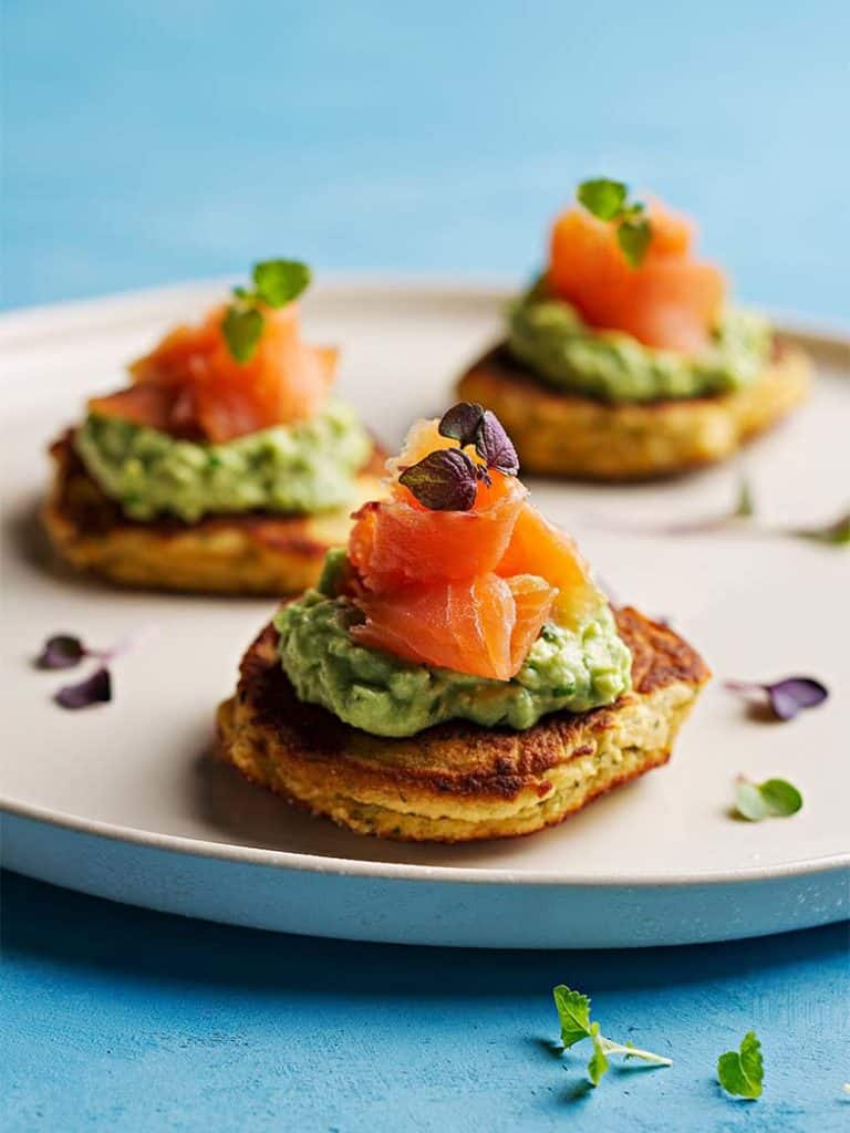 Smoked Salmon Blinis Recipe 786x1048