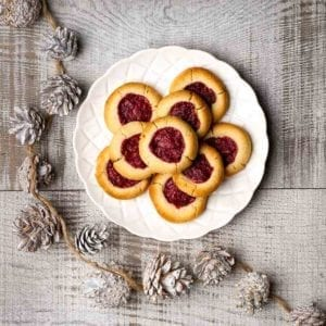 Stawberry Shortbread Cookies 800x800