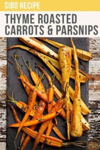Thyme Roasted Carrots And Parsnips Recipe Pt