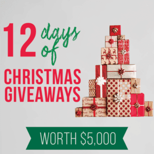 12 Days Of Christmas Giveaways 800x800