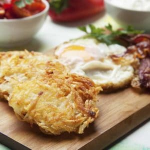 Crispy Eggs, Bacon And Hash Browns Recipe 800x800