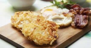 Crispy Eggs, Bacon And Hash Browns Recipe Fb