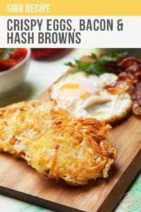 Crispy Eggs, Bacon And Hash Browns Recipe Pt