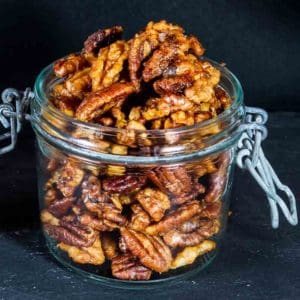 Maple Spiced Nuts Recipe 800x800