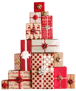 Presents Blank Background