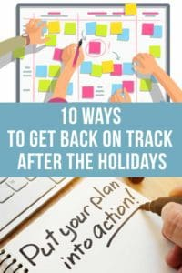 10 Ways To Get Back On Track After The Holidays Pt
