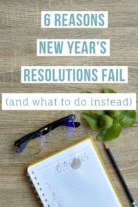 6 Reasons New Years Resolutions Fail Pt