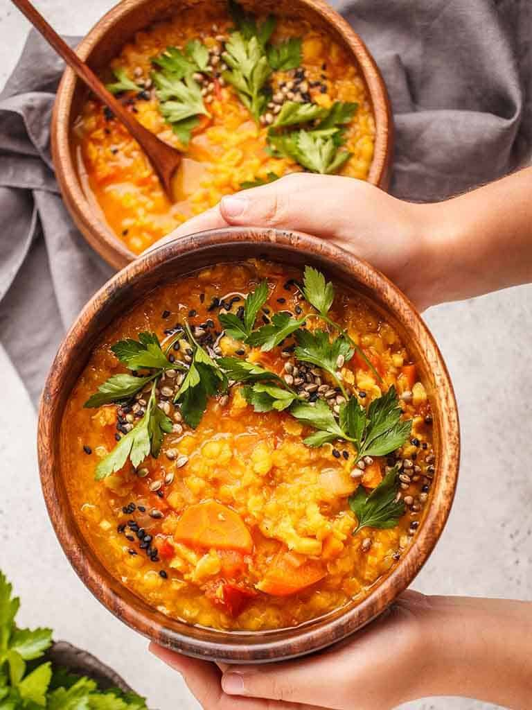 Carrot And Lentil Soup Recipe 786x1024