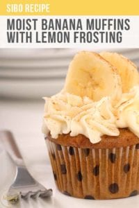 Moist Banana Cup Cakes With Lemon Frosting Recipe Pt