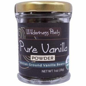 Wilderness Poets Pure Vanilla Powder