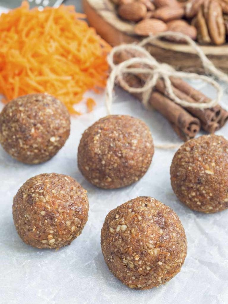 Carrot Cake Bliss Balls Recipe 786x1048
