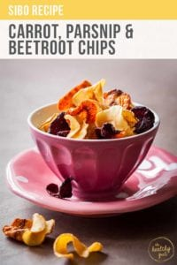 Carrot, Parsnip And Beetroot Chips Recipe Pt