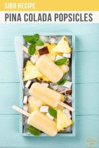 Pina Colada Popsicles Recipe Pt
