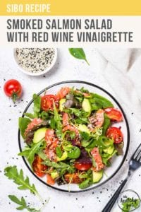 Smoked Salmon Salad With Red Wine Vinaigrette Recipe Pt