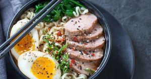 Japanese Duck Ramen Noodle Soup Recipe Fb