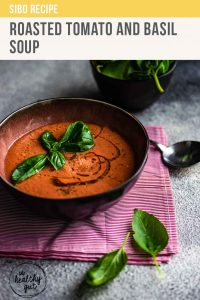 Roasted Tomato And Basil Soup Recipe Pt