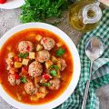 Tomato And Meatball Soup Recipe 786x1024